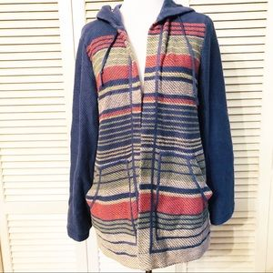 Coldwater Direct | Open Front Hooded Cardigan